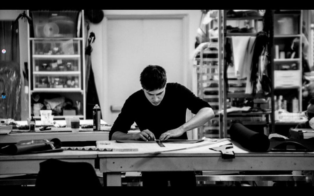 Asher Levine,  from design to pioneering fabrication techniques.