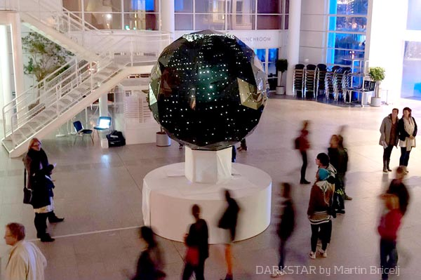 DARKSTAR PROJECT: The moon shines in the earth