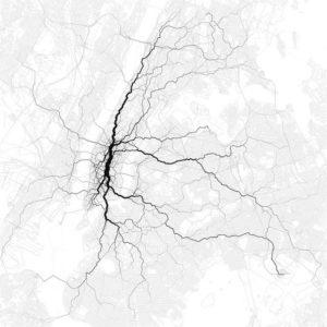 Paths through cities